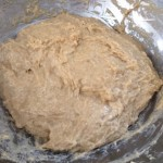 Dough before kneading